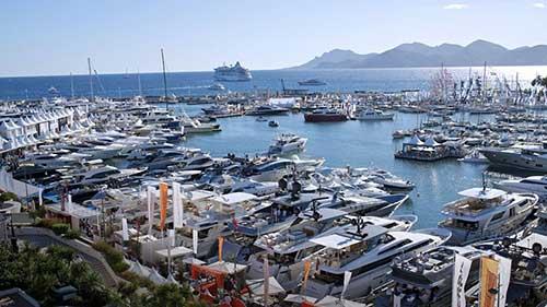 Cannes bateaux